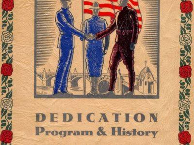 Amistice Day program 1930