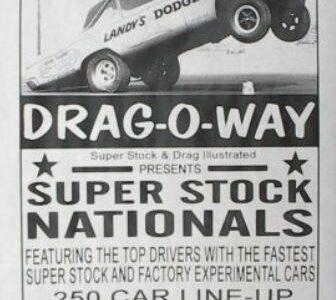 US30 drag way