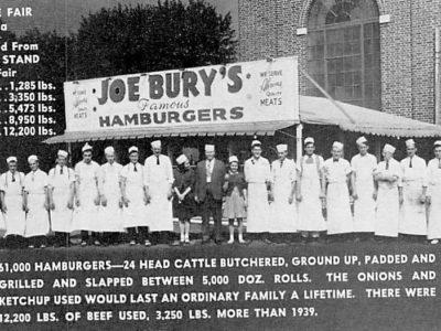 Joe Burys Hamburgers at York Fair